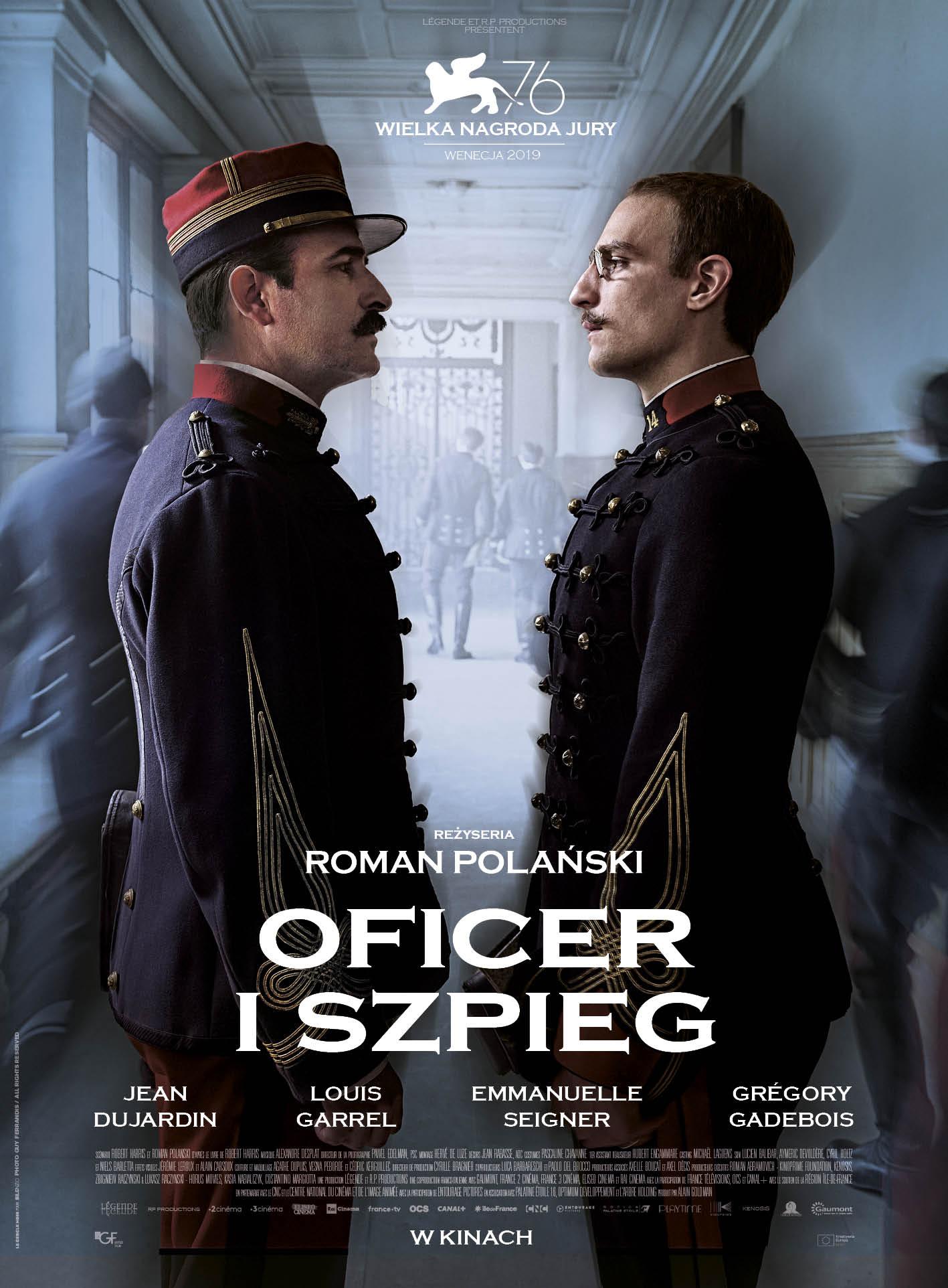 Oficer i szpieg_plakatPL_LQ