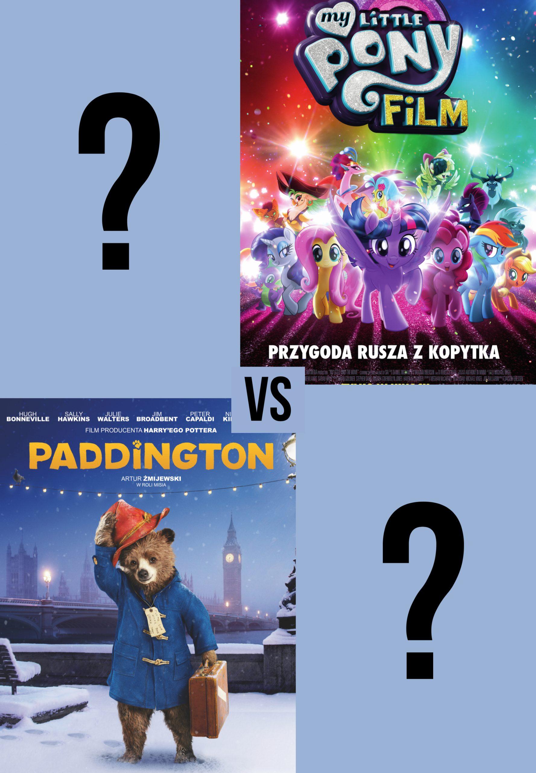 MLP vs Paddington plakat
