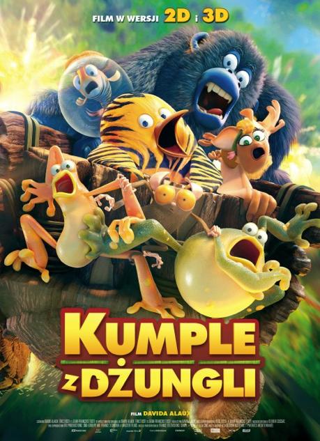Kumple z dżungli poster
