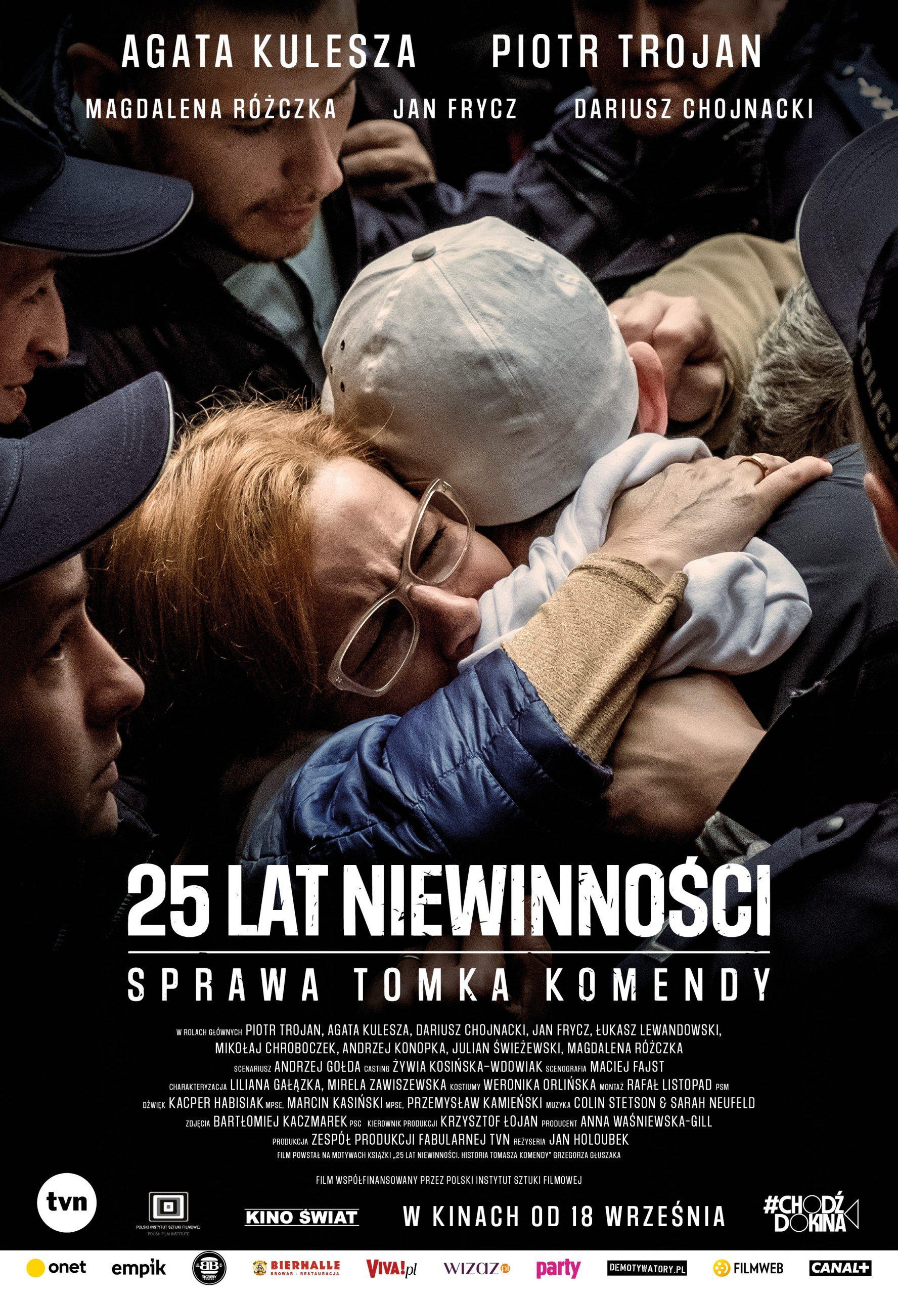 25 LAT NIEWINNOSCI - PLAKAT