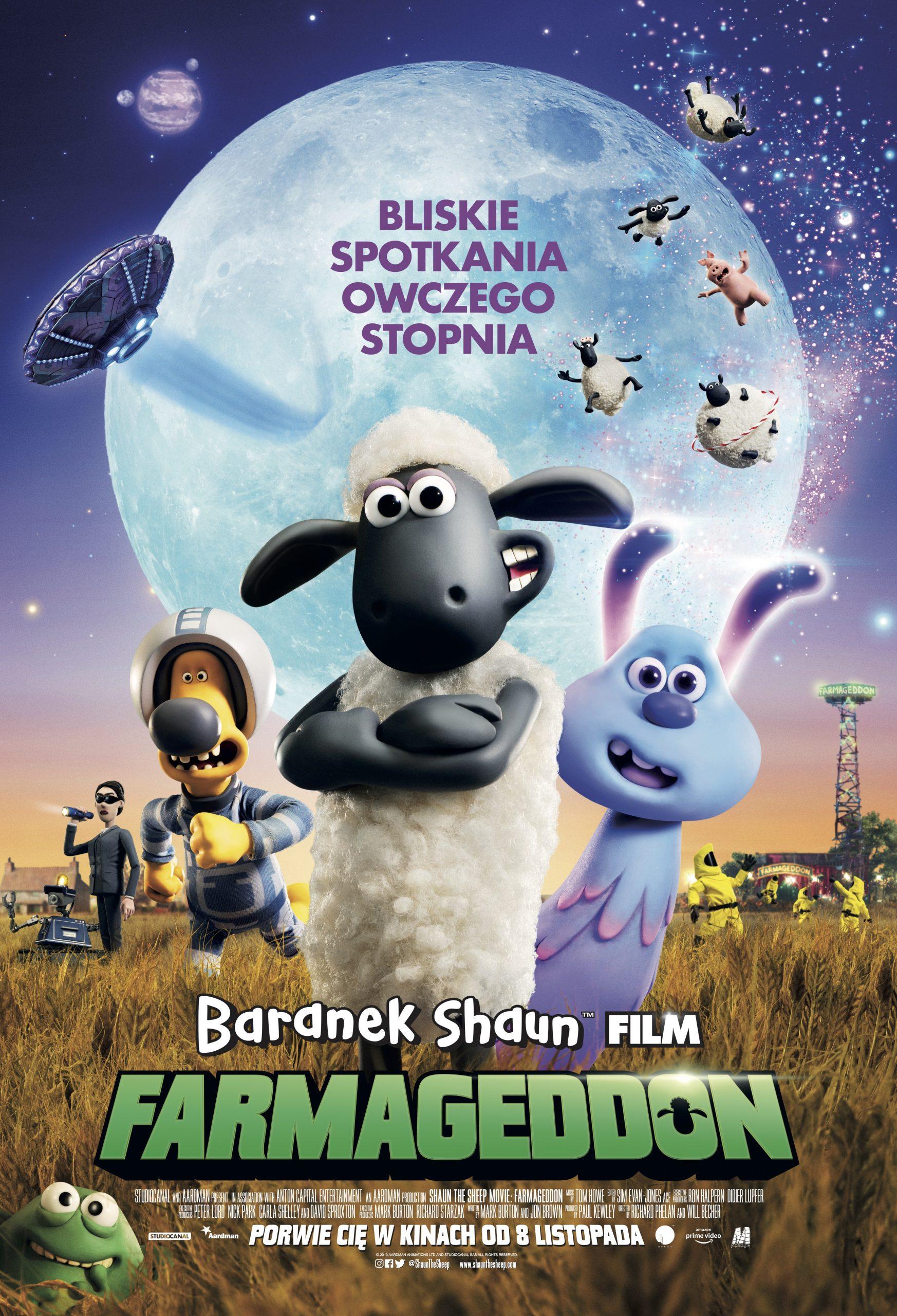 BARANEK SHAUN FILM. FARMAGEDDON plakat finalny_