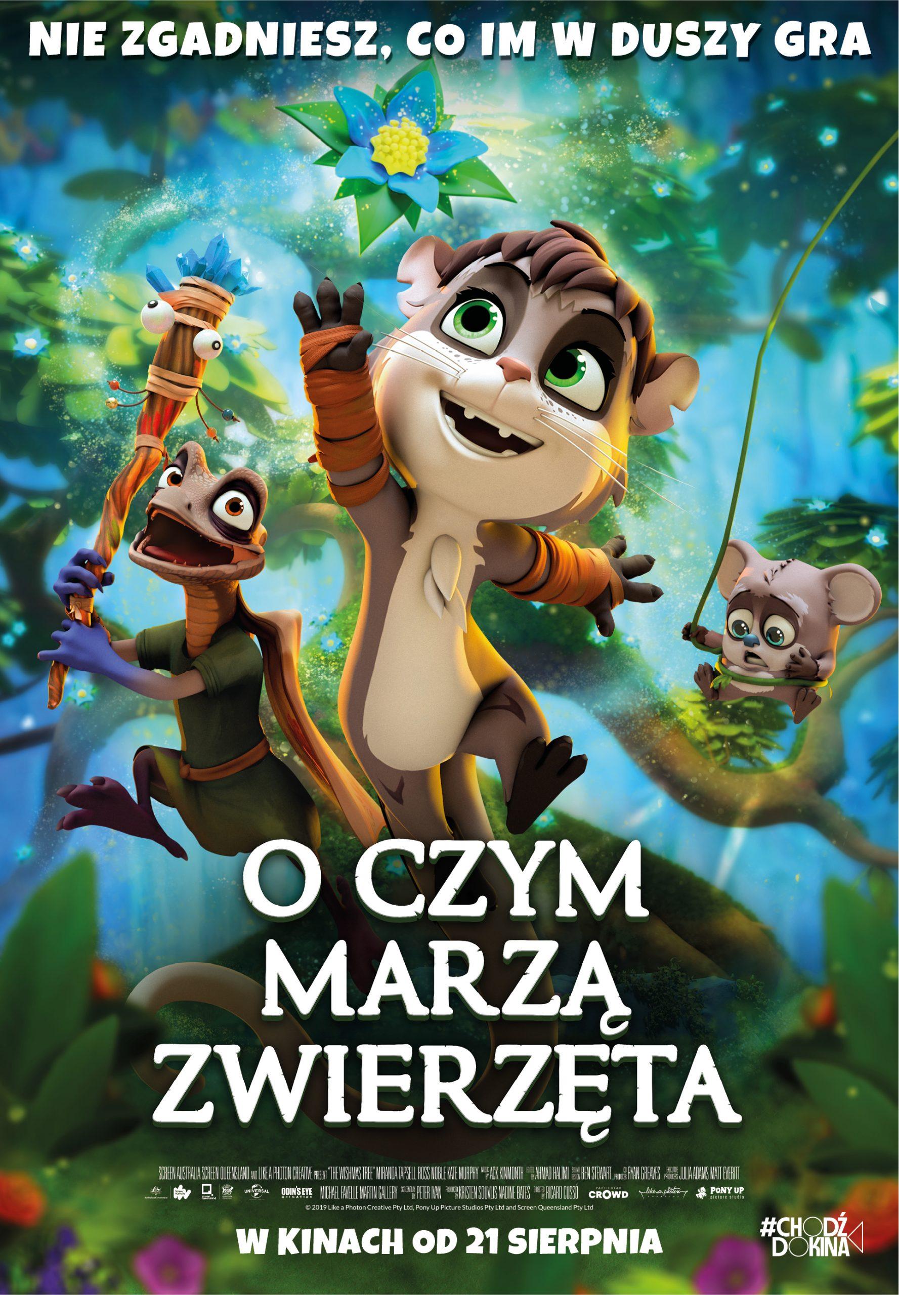 oczymmarzazwierzeta - plakat